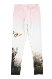 Molo Nikia Cats Leggings - Product Mini Image
