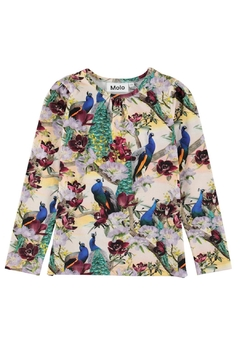 Molo Rose Oriental Peacocks Top - Product List Image