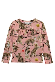 Molo Rosita Wannabe Leopard Top - Front cropped