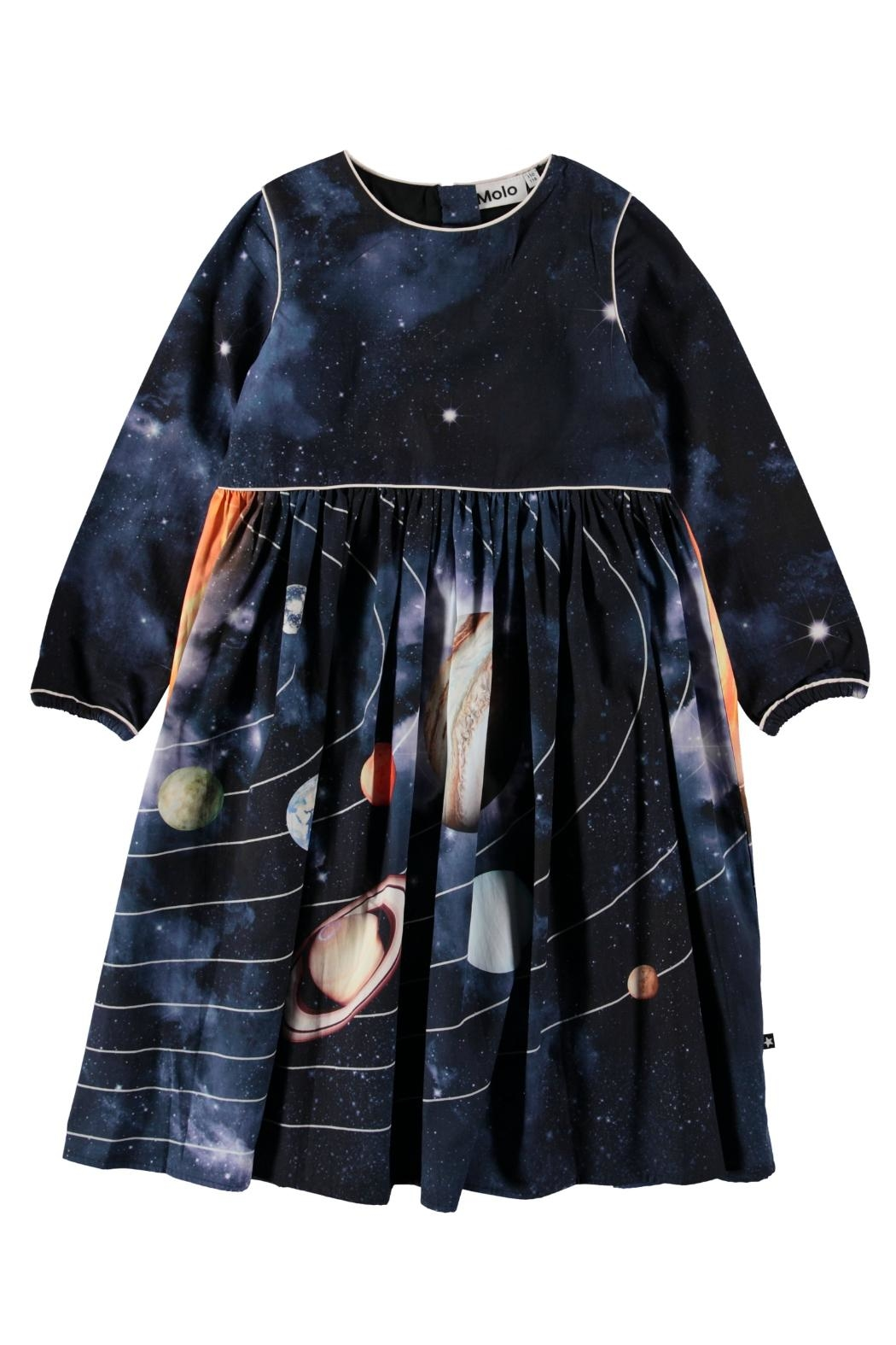 Molo Solar System Dress - Front Cropped Image