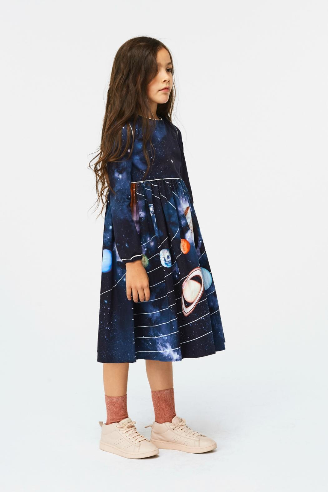 Molo Solar System Dress - Side Cropped Image