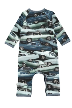 Molo Stacked Cars Playsuit - Alternate List Image