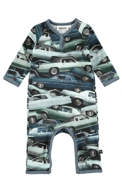 Molo Stacked Cars Playsuit - Product List Image