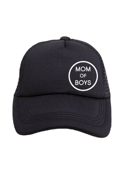 Tiny Trucker  Mom of Boys Trucker Hat - Product List Image