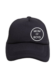 Tiny Trucker  Mom of Boys Trucker Hat - Front cropped