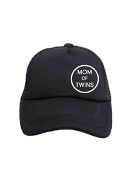 Tiny Trucker  Mom of Twins Trucker Hat - Product Mini Image