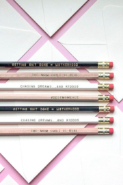 Lyn-Maree's  Mommying Ain't Easy, Funny Mom Pencil Pack - Product Mini Image