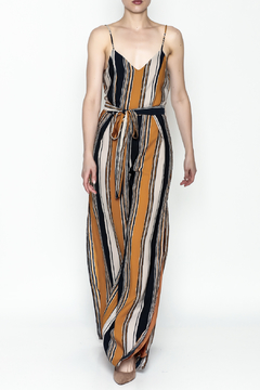 Shoptiques Product: Agnes Striped Jumpsuit