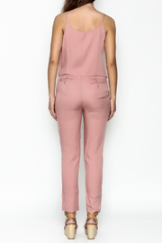 MOMNI BOUTIQUE Chic Pink Jumpsuit - Back cropped