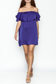 MOMNI BOUTIQUE Christina Periwinkle Dress - Side cropped