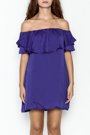 MOMNI BOUTIQUE Christina Periwinkle Dress - Front full body