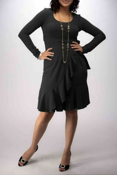 momzelle Black Nursing Dress - Alternate List Image