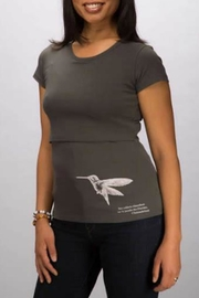 momzelle Hummingbird Nursing Shirt - Product Mini Image