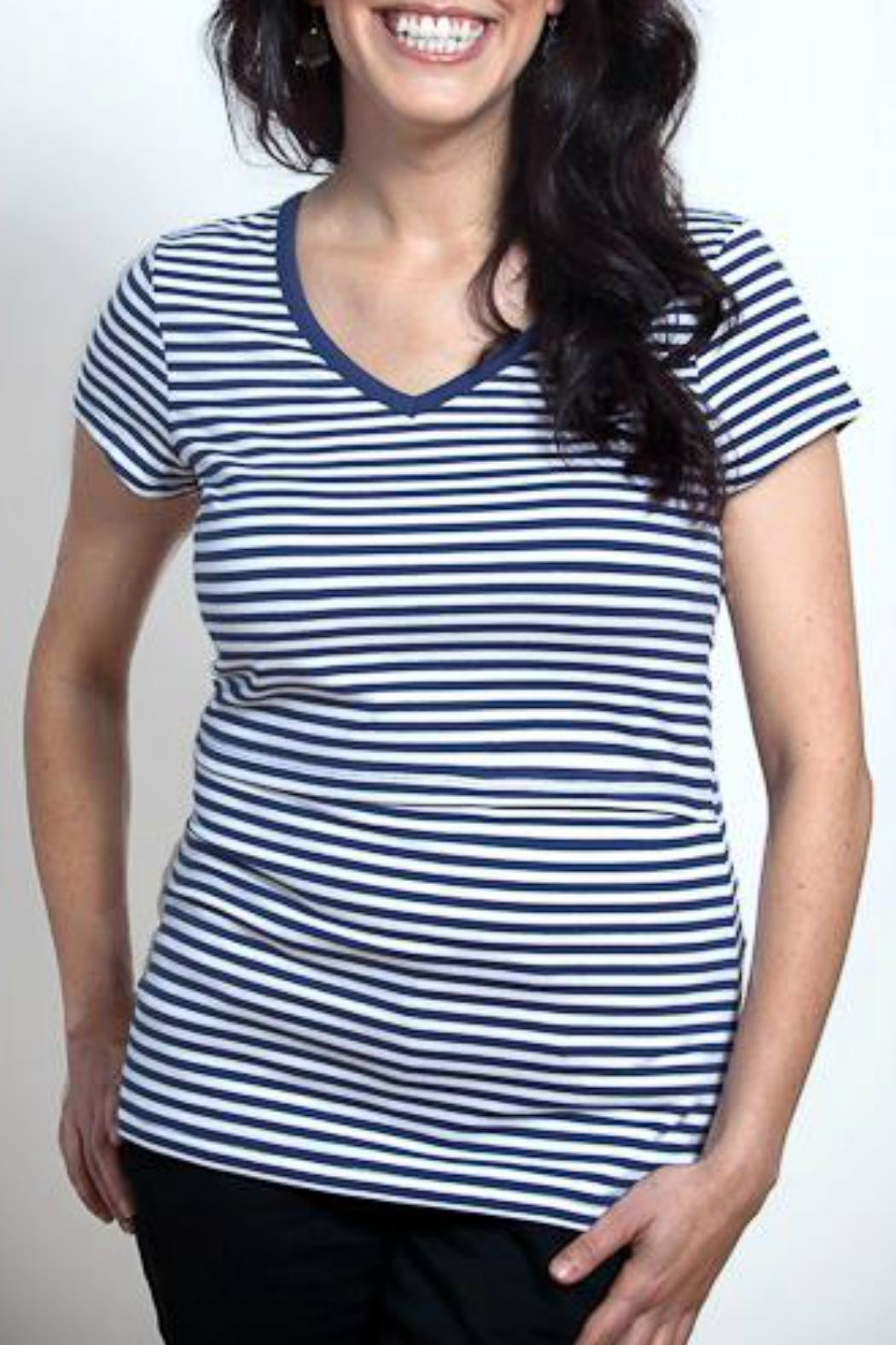 ec2b78f6290 momzelle Striped Nursing Top from Washington by Mama and Baby Supply ...