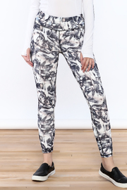 Mona B Painted Criss-Cross Legging - Product Mini Image