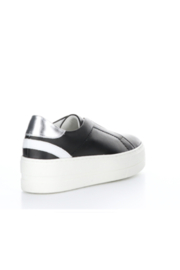 Bos & Co. Mona Black Leather Slip On - Back cropped