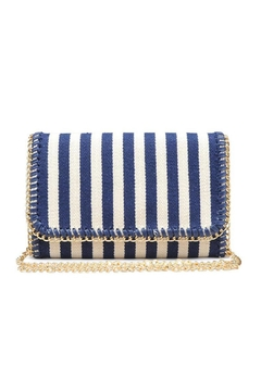 Urban Expressions Mona Striped Clutch - Alternate List Image