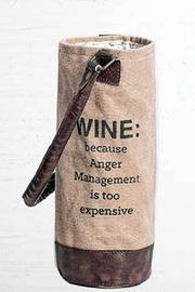Mona B Anger Wine Bag - Product Mini Image