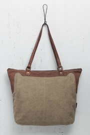 Mona B Applique Detailed Tote - Front full body