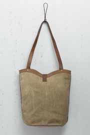 Mona B Boho Canvas Tote - Front full body
