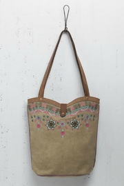 Mona B Boho Canvas Tote - Product Mini Image