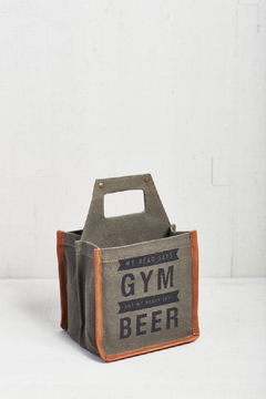 Shoptiques Product: Canvas Beer Cady