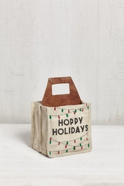 Mona B Canvas Beer Caddy - Front cropped