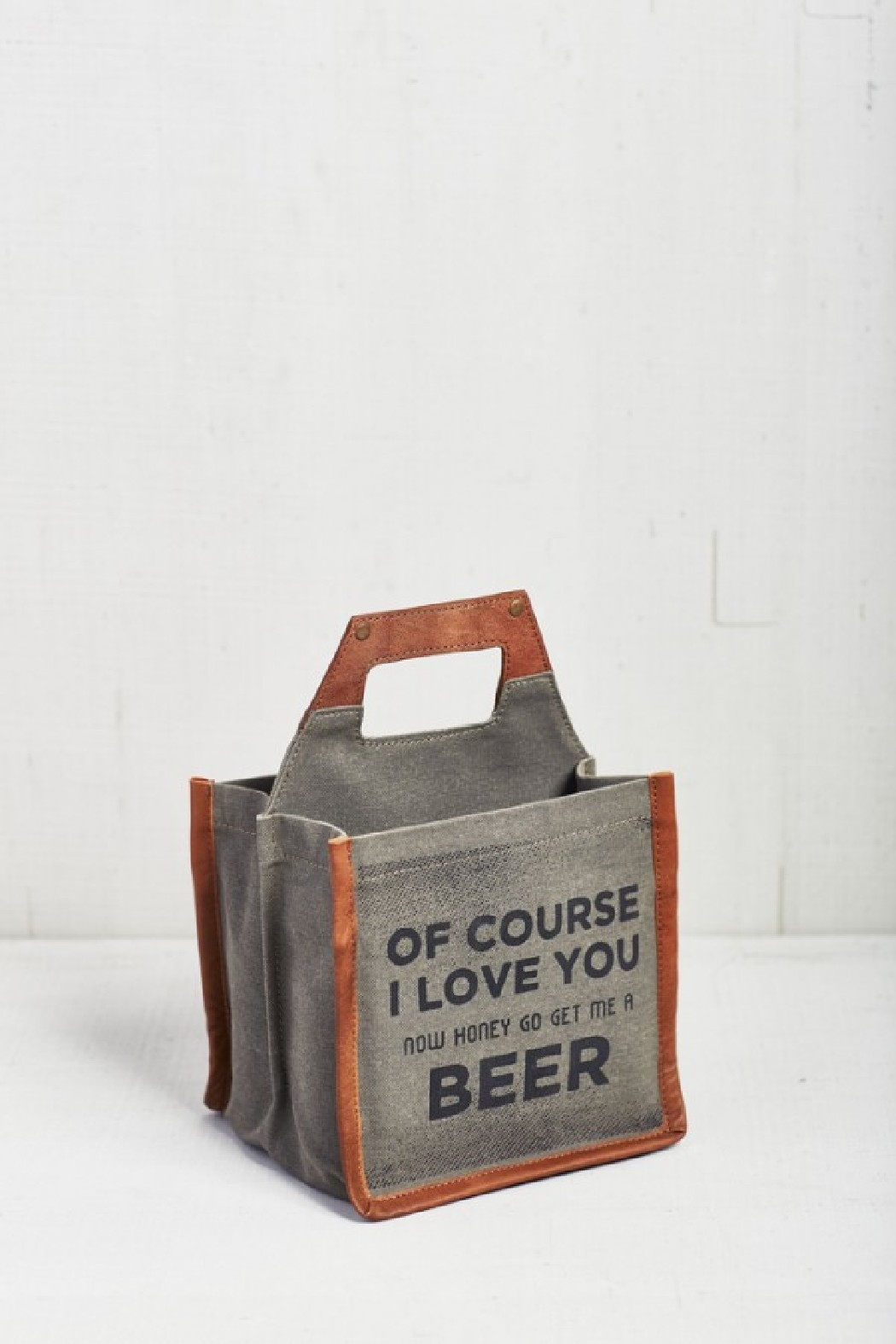 Mona B Canvas Beer Caddy - Front Cropped Image