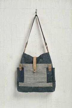Shoptiques Product: Chambray Crossbody Tote