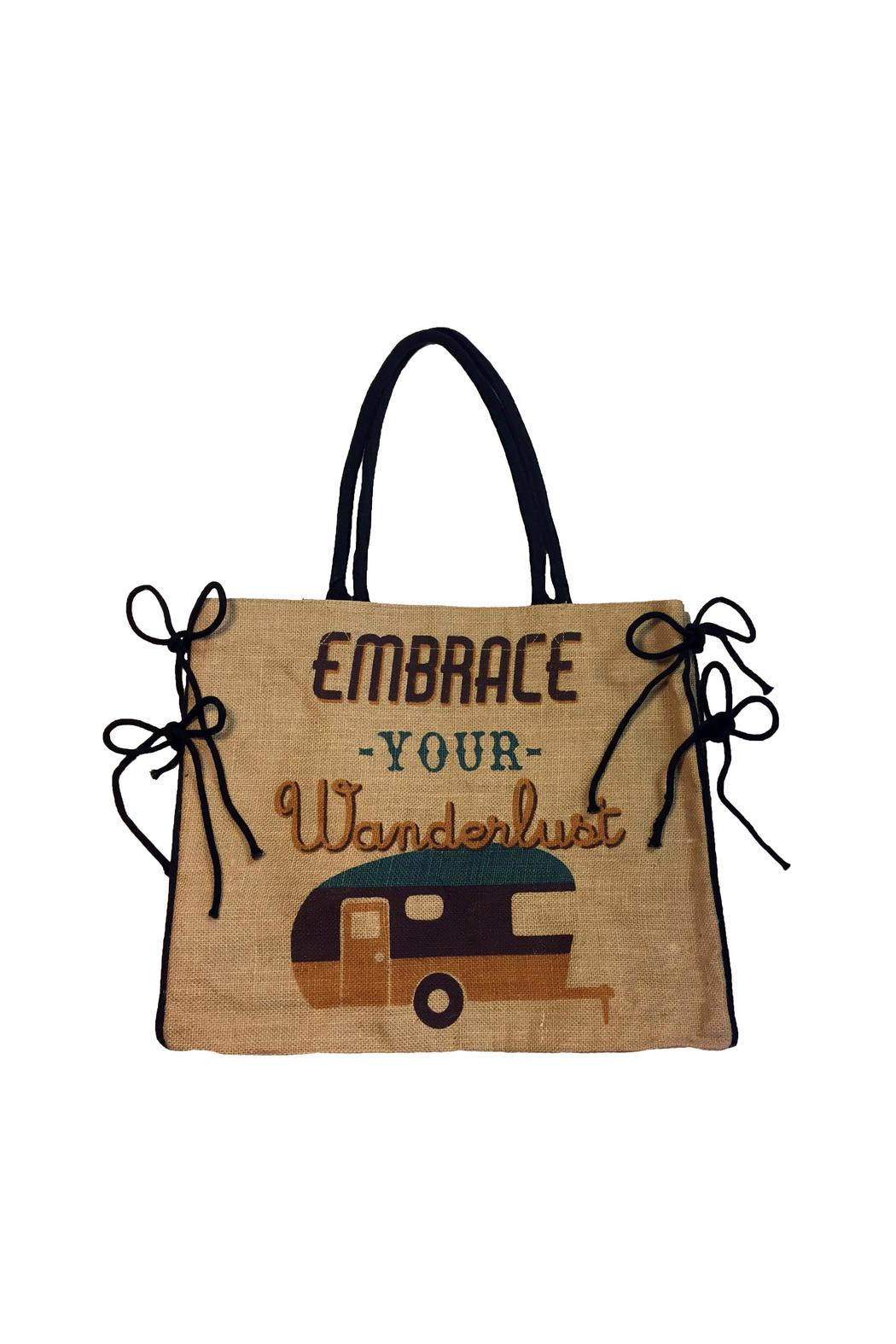 Mona B Embrace Your Wanderlust Bag - Main Image
