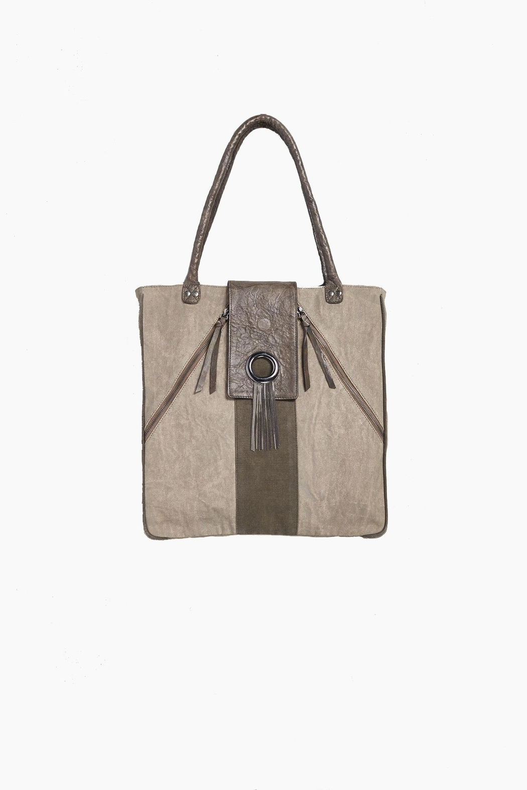 Mona B Harper Tote Bag - Front Cropped Image