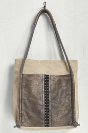 Mona B Snap Canvas Tote - Product Mini Image