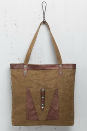 Mona B Up-Cycled Canvas Tote - Product Mini Image