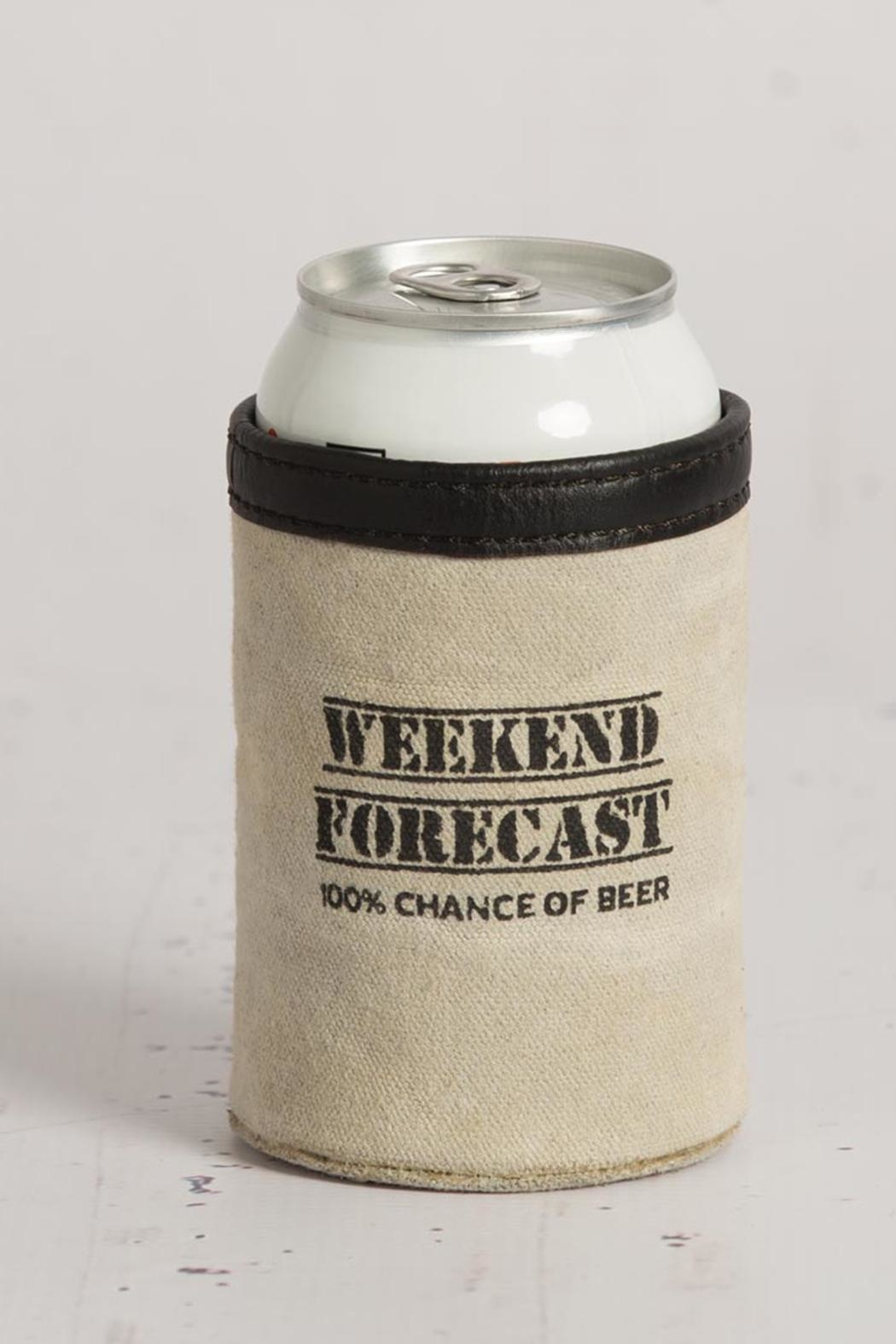 Mona B Weekend Forecast Koozie - Front Cropped Image
