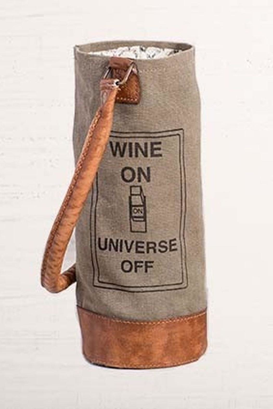 Mona B Wine On Bag - Main Image