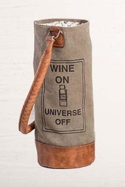 Mona B Wine On Bag - Front cropped