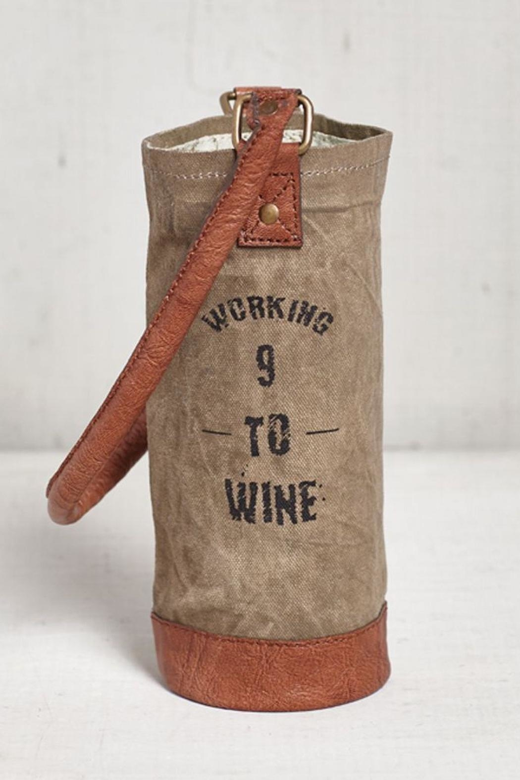Mona B Working Wine Bag - Front Cropped Image