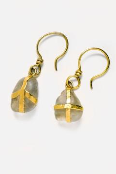 Shoptiques Product: Wrapped Earrings