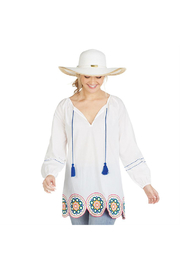 Mud Pie Monaco Embroidered Tunic - Product Mini Image