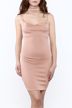 Shoptiques Product: Blush Fitted Sleeveless Dress