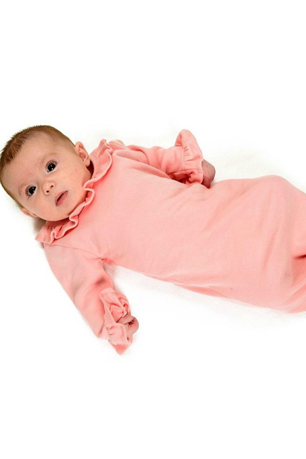 Monag Cotton Baby Gown - Side Cropped Image