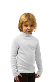 Monag Cotton Turtleneck - Front full body