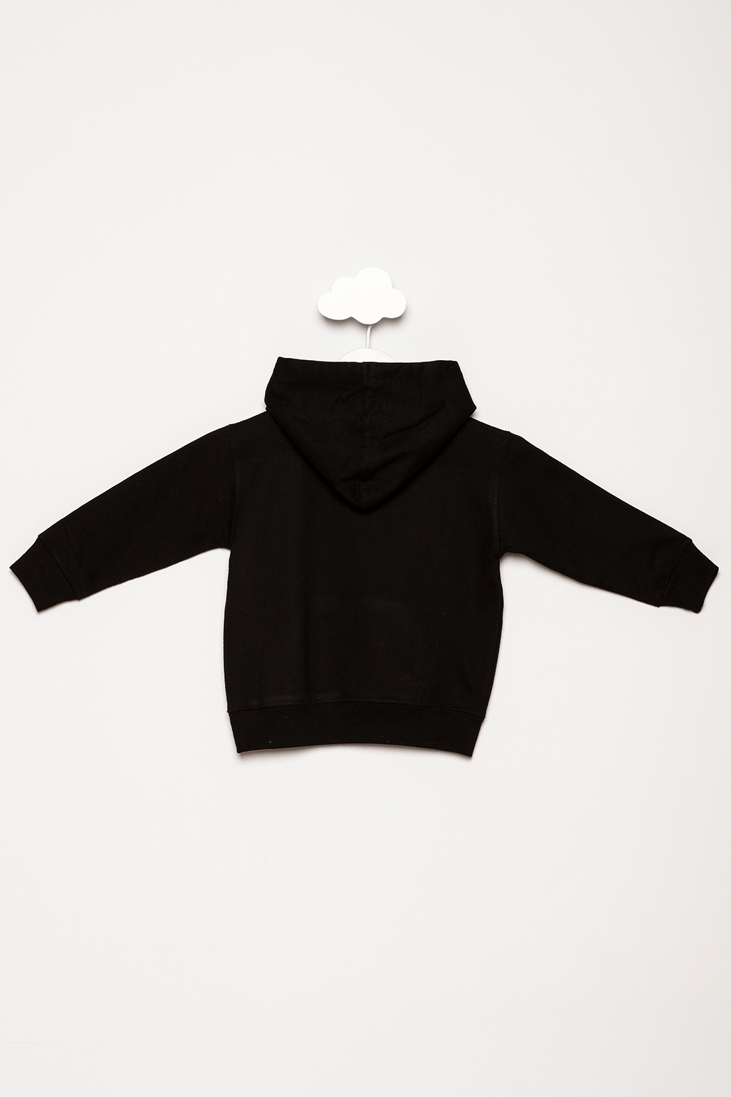 Monag Little Boss Hoodie - Back Cropped Image