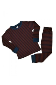 Monag Striped Pajama Set - Product Mini Image