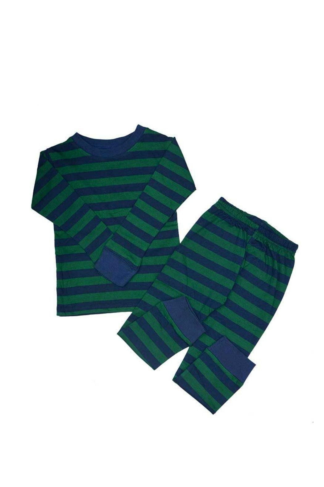 Monag Stripe Pajama Set - Main Image
