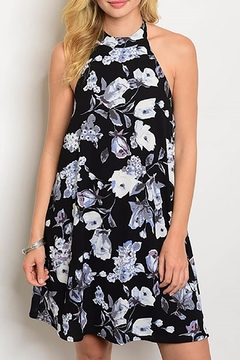 MonaMi Black Floral Dress - Product List Image