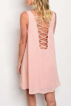 MonaMi Nude Shift Dress - Alternate List Image