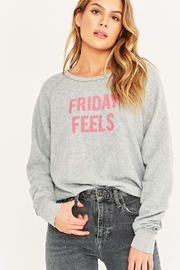 Project Social T Monday/Friday Reversible Ultra Soft Pullover - Product Mini Image