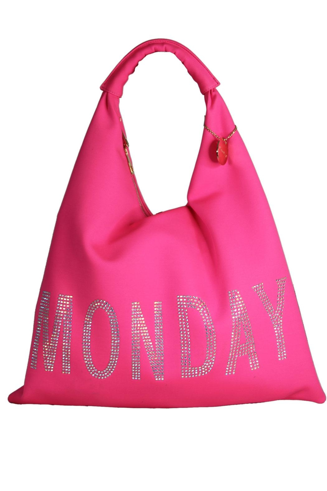 eee027eae34 Alex Max Group Monday Tote from New York by Runway   Rose — Shoptiques