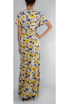rokoko Monet Floral Wrap-Dress - Alternate List Image